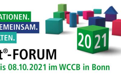 City & Bits nimmt vom 6.-8. Oktober am KGSt-Forum 2021 teil