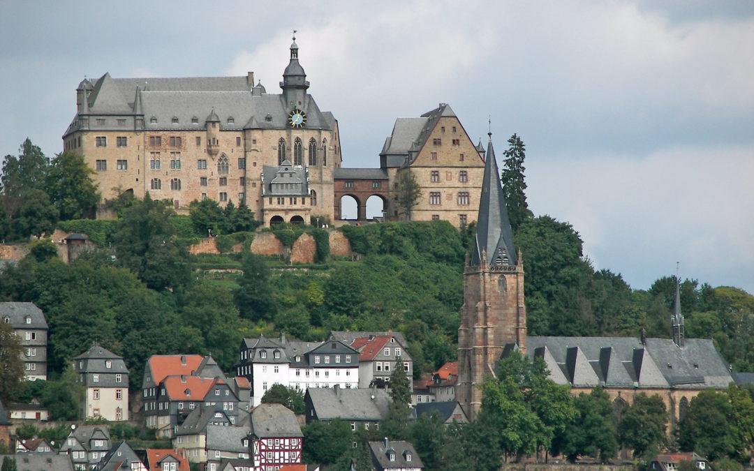 Die Stadt Marburg mit neuem Gesicht