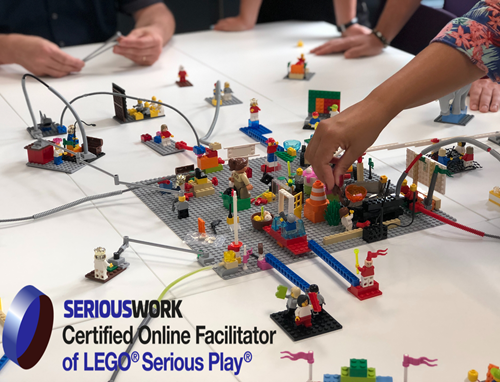 City&Bits ist zertifizierter LEGO® SERIOUS PLAY® Online-Facilitator